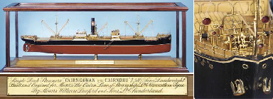 A FINE BUILDER'S MODEL OF S.S'