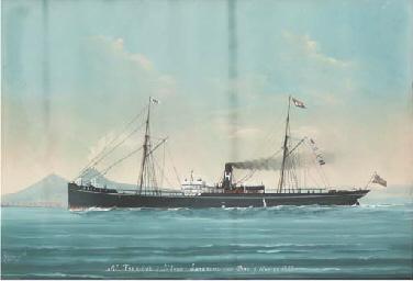 S.S. Trekieve of St. Ives ente