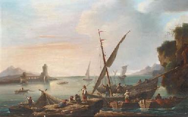 Mediterranean traders unloadin