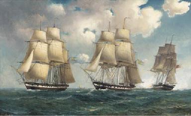 Swedish and Danish frigates sa
