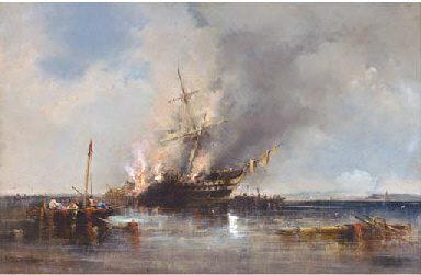 The loss of H.M.S. Bombay off