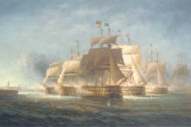 The naval bombardment of Copen