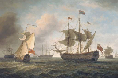 King Charles II's visit to the
