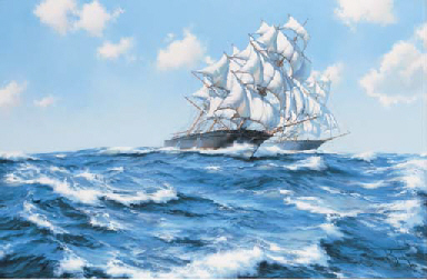 High seas race:  The Childers