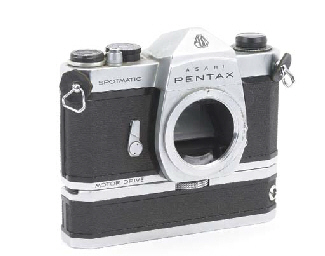 Pentax Spotmatic SP no. 230476