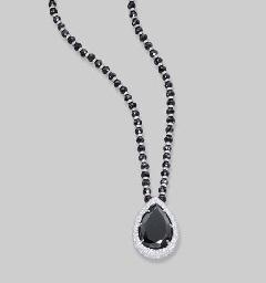 A BLACK DIAMOND AND DIAMOND PE