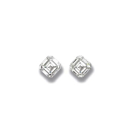 AN IMPRESSIVE PAIR OF DIAMOND