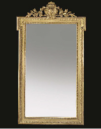 A FRENCH COMPOSITION GILT OVER