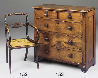 A LATE VICTORIAN MAHOGANY CHES