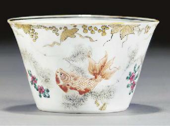 An export flaring tea bowl, 18