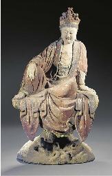 A stucco painted figure of Gua