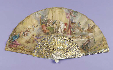 The wedding, the leaf painted