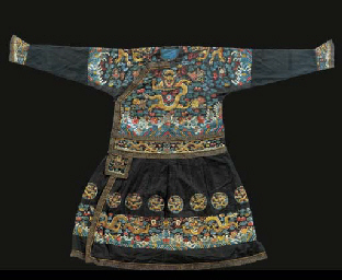 A formal court robe (chao fu)
