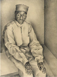 Portrait of a man from Senegal
