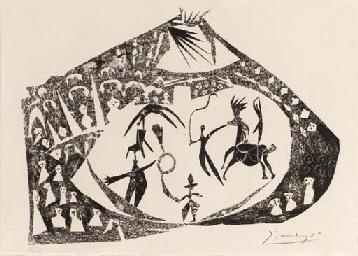 Le Cirque (Bloch 385; Mourlot