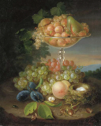 Still Life with Fruit, Nest of