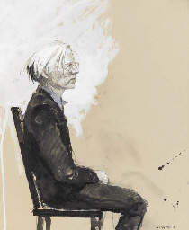 Andy Warhol-Profile Seated