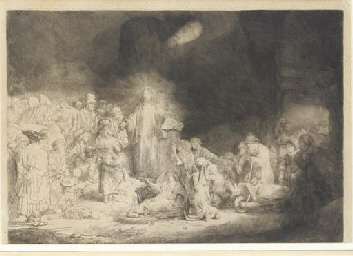 Christ healing the Sick. 'The