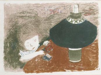 L'enfant à la Lampe (R.-M.; B.