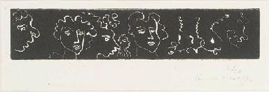 Cinq Visages féminins (Duthuit