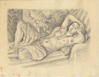 Odalisque au Magnolia (D.-M. 4