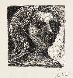 Tête de Femme (B. 73; Mourlot