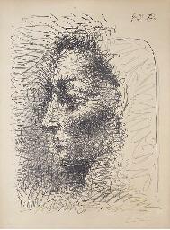 Portrait de Jacqueline (B. 827