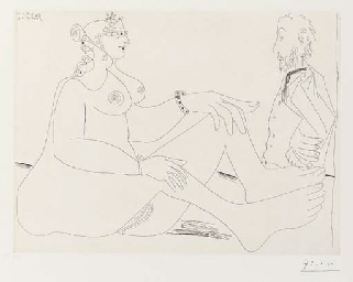 Fille au Bracelet, avec Degas