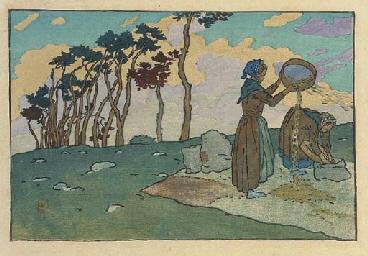 Les Vanneuses à Loguivy (Field