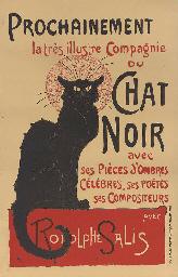 Tournée du Chat Noir de Rodolp