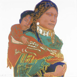 Mother and Child, from Cowboys