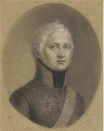 Portrait of Tsar Alexander I