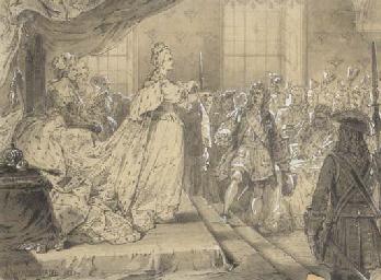Catherine II at Court