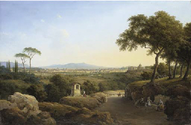 An extensive view of Rome