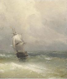 Ship in Rough Seas