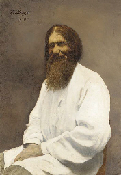 Portrait of Rasputin