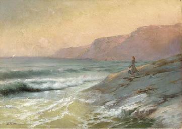 Watchers on the Crimean coast