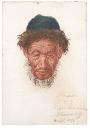 Portrait of a Kirgiz; Portrait