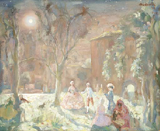 Nocturnal fancy-dress party