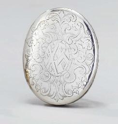 A George I silver tobacco-box