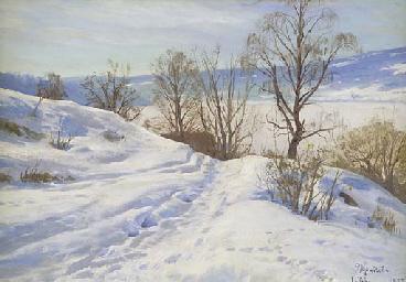 A Winter Landscape, Lillehamme