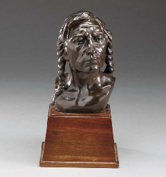Head of a Sioux Indian