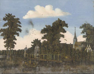 [Views of the Singel, Amsterda