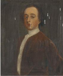 Portrait of a gentleman, tradi