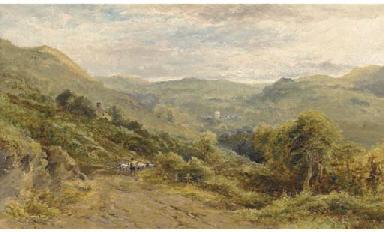 The valley of Varnun, Wales