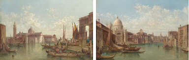 The Grand Canal, Venice; and S
