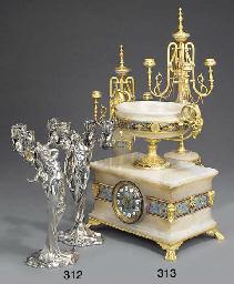 A pair of French art nouveau s