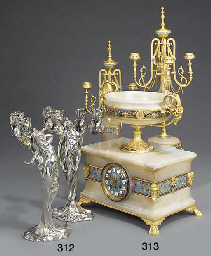 A French champleve enamel and