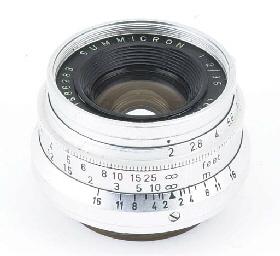 Summicron f/2 35mm. no. 168628