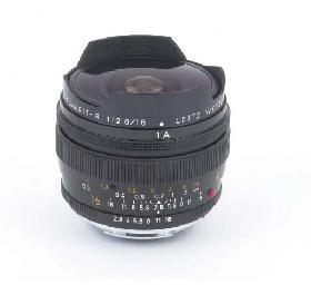 Fisheye-Elmarit-R f/2.8 16mm.